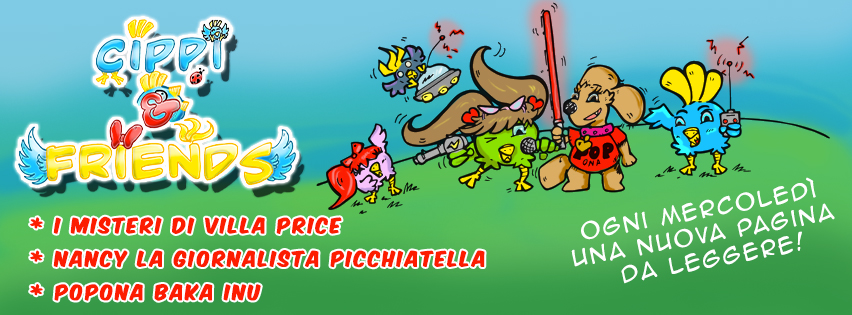 Cippi & Friends: Webcomics a partire da Settembre